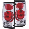 ANZO 1989-1995 Toyota Pickup Taillights Chrome