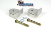 ReadyLift Suspension 05-15 Ford F250/350/450 1.5in T6 Billet Alum Leveling Kit Anodized - Silver