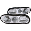 ANZO 1998-2002 Chevrolet Camaro Crystal Headlights w/ Halo Chrome