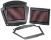 K&N 02-09 Yamaha XV1700 Road Star Warrior 1670 / 07-09 Midnight Warrior 1700 Replacement Air Filter