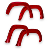 EGR 09+ Dodge Ram LD Bolt-On Look Color Match Fender Flares - Set - Flame Red