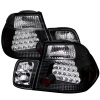 Spyder BMW E46 3-Series 99-01 4Dr LED Tail Lights Black ALT-YD-BE4699-4D-LED-BK