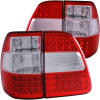 ANZO 1998-2005 Toyota Land Cruiser Fj LED Taillights Red/Clear G2