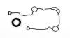 Cometic 2003+ Dodge 5.7/6.1L Hemi Timing Cover Set w/ Seal