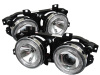 Spyder BMW E34 5-Series 89-94 Projector Headlights NO FIT 750 LED Halo Chrm PRO-YD-BMWE34-HL-C