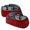 Spyder BMW E38 7-Series 95-01 LED Tail Lights Red Clear ALT-YD-BE3895-LED-RC