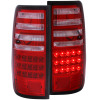ANZO 1991-1997 Toyota Land Cruiser Fj LED Taillights Red/Clear