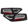 Spyder Audi A5 08-12 LED Tail Lights Black ALT-YD-AA508-LED-BK