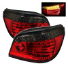 Spyder BMW E60 5-Series 04-07 LED Tail Lights Red Smoke ALT-YD-BE6004-LED-RS
