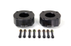 ReadyLift Suspension 07-15 Toyota Tundra 2.4in T6 Billet Aluminum Leveling Kit Anodized - Black