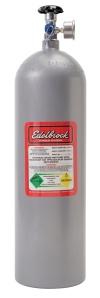 Edelbrock 15Lb Painted Nitrous Bottle w/ Racer Safety Adapter