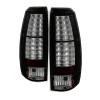 Spyder Chevy Avalanche 07-13 LED Tail Lights Black ALT-YD-CAV07-LED-BK