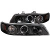 ANZO 1994-1997 Honda Accord Projector Headlights w/ Halo Black 1 pc