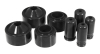 Prothane 07+ Jeep JK 2in Lift Coil Spring Isolator - Black