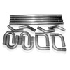 Stainless Works 2 1/8in Rod Builder Exhaust (Slip Fit Kit)