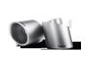 Akrapovic 09-16 Volkswagen Scirocco R Tail Pipe Set (Titanium)