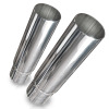 Stainless Works Straight Cut Resonator Tips 2 1/2in ID Inlet 3in Body
