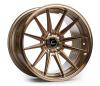 Cosmis Racing R1 Hyper Bronze Wheel 18x10.5 +32mm Offset 5x114.3