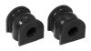Prothane 02-03 Honda Civic Rear Sway Bar Bushings - 15mm - Black