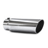 JAMO 5in In - 6in Out - 18in Length Stainless Steel Rolled Polished Tip