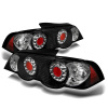 Spyder Acura RSX 02-04 LED Tail Lights Black ALT-YD-ARSX02-LED-BK
