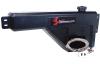Snow Performance Water-Methanol Tank Upgd. 10gal (w/Braided SS Line/Brackets/Solenoid/4AN Fittings)