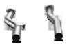 Akrapovic 15-17 Porsche Cayenne Turbo (958 FL) Link-Pipe Set (Titanium)