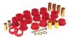 Prothane 07-11 Jeep Wrangler Front Control Arm Bushings - Red