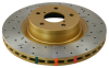 DBA 00-05 S2000 Front Drilled & Slotted 4000 Series Rotor