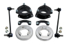 ReadyLift Suspension 03-08 Honda Pilot SST Lift Kit 2.0in Front 1.0in Rear