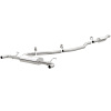 MagnaFlow 13-15 Lincoln MKZ L4 2.0L Turbo Stainless Cat Back Performance Exhaust Dual Split Rear