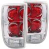 ANZO 1995-2005 Chevrolet Blazer Taillights Chrome