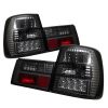 Spyder BMW E34 5-Series 88-95 LED Tail Lights Smoke ALT-YD-BE3488-LED-SM