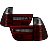 Spyder BMW E53 X5 00-06 4PCS Euro Style Tail Lights- Red Smoke ALT-YD-BE5300-RS
