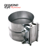 Diamond Eye 3.5in LAP JOINT CLAMP 304 SS