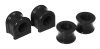 Prothane 00-01 Dodge Dakota Front Sway Bar Bushings - 33mm - Black