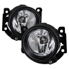 Spyder 17-18 Mitsubishi Mirage G4 OEM Fog Lights w/Switch - Clear (FL-MMG417-C)