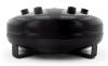 Air Lift 4 Gal Pancake Tank- 8in H X 16in Dia W/ (4) 1/2 (2) 3/8 (1) 1/4 & (1) 1/8 Ports