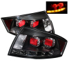 Spyder Audi TT 00-06 LED Tail Lights Black ALT-YD-ATT99-LED-BK