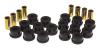 Prothane 07-11 Jeep Wrangler Rear Control Arm Bushings - Black