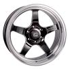 Cosmis Racing XT-005R Black w/ Machined Lip Wheel 20x9.5 +15mm 6x139