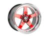 Cosmis Racing XT-005R Wheel Red w/ Machined Lip 18x10 +20mm 5x114.3