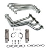 BBK 10-15 Camaro LS3 L99 Long Tube Exhaust Headers With Converters - 1-3/4 Chrome