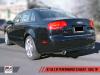 AWE Tuning Audi B7 A4 2.0T Quattro Dual Tip Performance Exhaust - Tiptronic - Diamond Black Tips