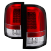 Spyder 07-13 Silverado (Will Not Work w/2010 921 Bulb) V3 Tail Lights Rd/Clr ALT-YD-CS07V3-LBLED-RC