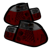 Spyder BMW E46 3-Series 02-05 4Dr Tail Lights Red Smke ALT-YD-BE4602-4D-LED-RS