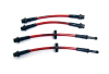 Agency Power Rear Steel Braided Brake Lines BMW 135i 08-11