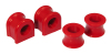 Prothane 00-01 Dodge Dakota Front Sway Bar Bushings - 33mm - Red