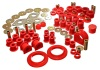 Energy Suspension 01-04 Toyota Tacoma Red Hyper-Flex Master Bushing Set