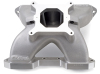 Edelbrock 2-Piece Manifold 18-Deg SBC Dirt Late Model Hand Port / + 550 Flange Version